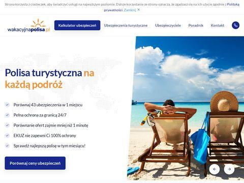 Wakacyjnapolisa.pl - Ubezpieczenia turystyczne