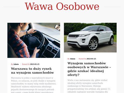 Wawaosobowe.pl wynajem samochodów