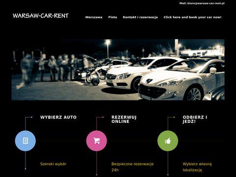 Warsaw-car-rent.pl nowoczesna wypożyczalnia