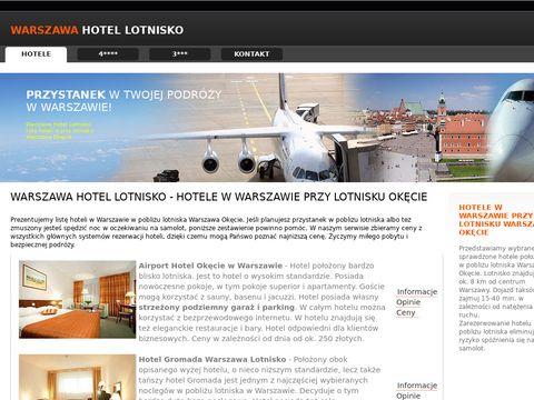 Hotele przy lotnisku Okęcie w Warszawie