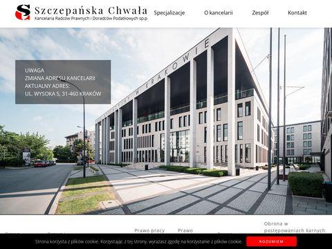 Wchwala.com.pl prawnik w Krakowie