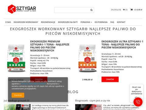 Wegielsztygar.pl - sklep online z węglem