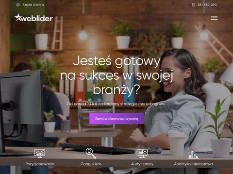 Weblider.pl - tworzenie stron www