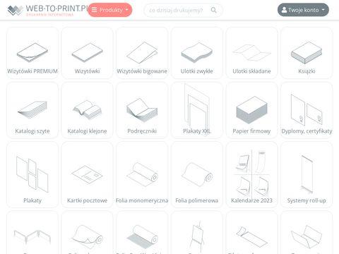 Web-to-print.pl tania drukarnia internetowa