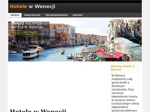 Wenecja-hotele.pl noclegi w Wenecji