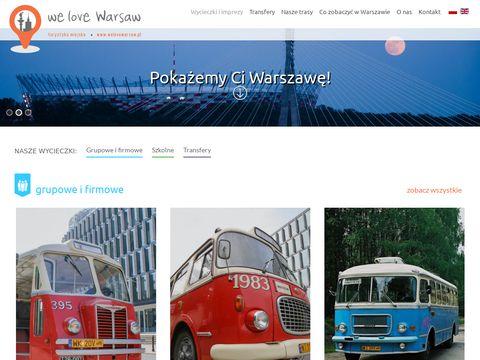 We love Warsaw - atrakcje Warszawy