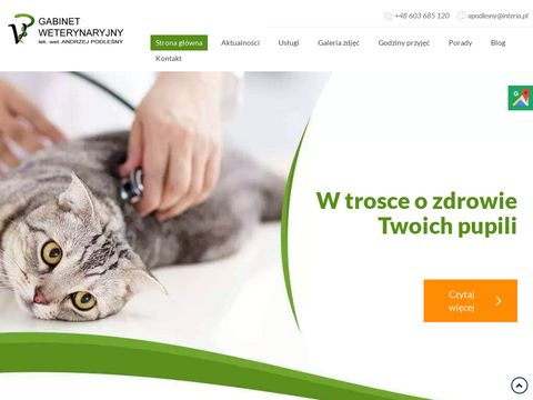 Andrzej Podleśny leczenie zwierząt