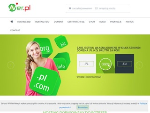 Wer.pl hosting stron www