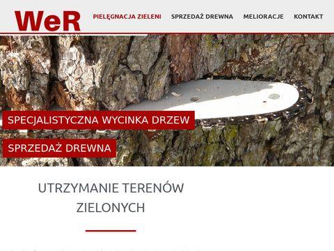 Wer-zielen.pl wycinka drzew Opole