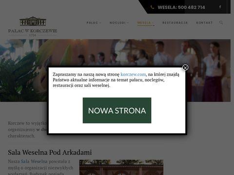 Weselakorczew.pl Pod Arkadami sale weselne Siedlce