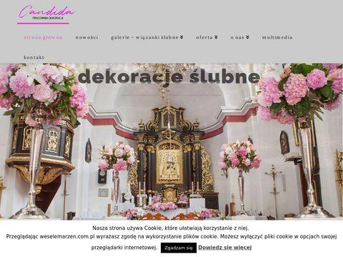 Weselemarzen.com.pl Pracownia dekoracji Candida