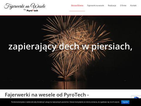 Weselefajerwerki.pl pokazy