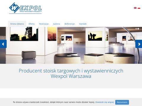 Wexpol producent stoisk targowych