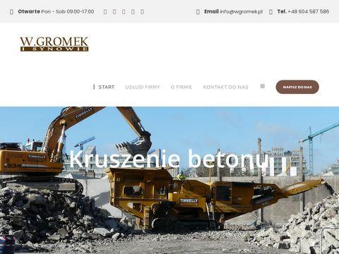 Wgromek.pl Wywóz złomu Warszawa