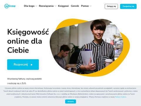 Wfirma.pl - księgowość online