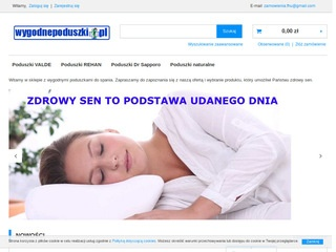 Wygodnepoduszki.pl - poduszki do spania