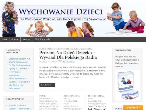 Wychowajdzieci.pl wychowanie dzieci