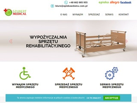 Wynajemsprzetumedycznego.pl Szubert Medical