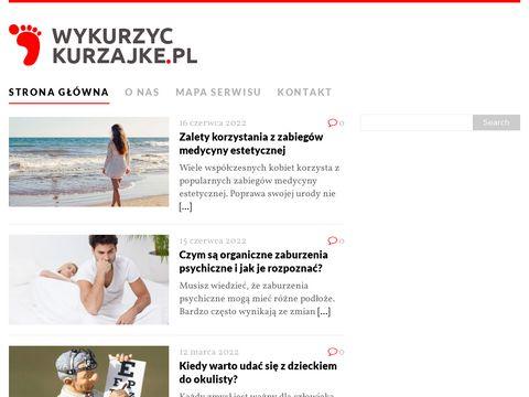 Wykurzyckurzajke.pl - blog o kurzajkach