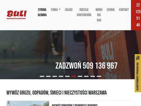 Wywoz-smieci.pl kontenery na gruz