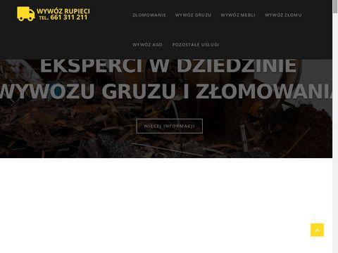 Wywozrupieci.pl - złomowanie pojazdów