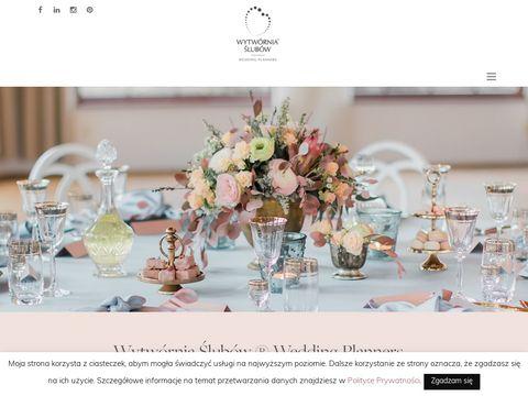 Wytworniaslubow.pl profesjonalna organizacja