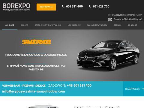 Wypozyczalnia-borexpo.pl wynajem samochodów