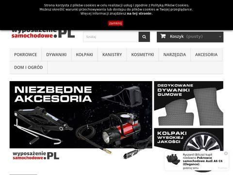 Wyposazeniesamochodowe.pl akcesoria