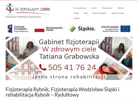 Wzdrowymciele.pl rehabilitacja