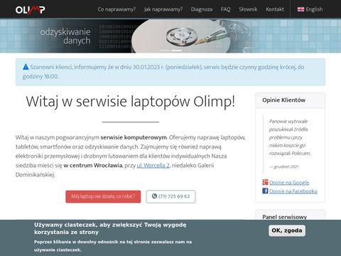 Naprawa notebooków Olimp we Wrocławiu