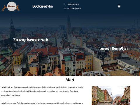 Wrocek licencjonowani przewodnicy po Wrocławiu