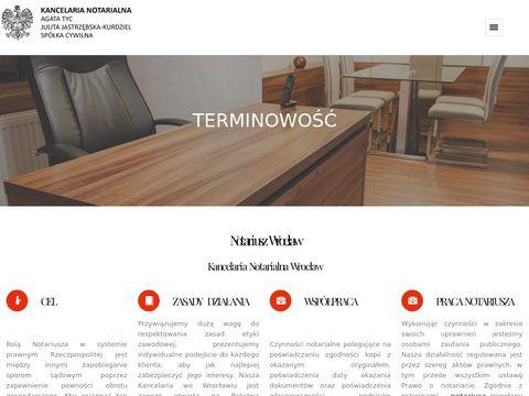 Wroclawnotariusze.pl