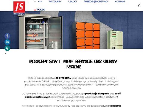 JS Integral rozdzielnie elektryczne