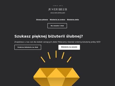 Justjubiler.pl Tomaszów Maz. internetowy sklep jubilerski