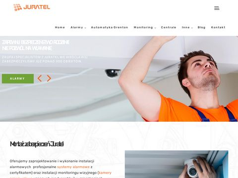Juratel.com.pl systemy alarmowe Wrocław