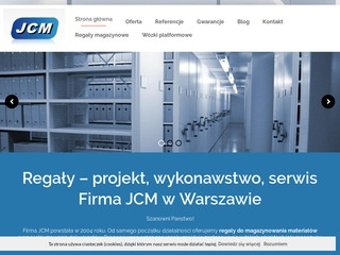 Jcm.pl antresole magazynowe