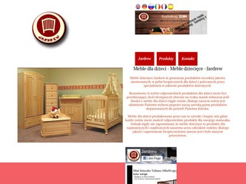Jardrew.eu łóżeczka dla dzieci