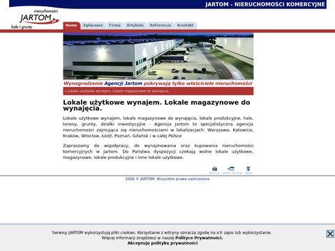 Lokale, lokale użytkowe, lokale magazynowe - Jartom