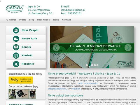 Japa-przeprowadzki.com.pl pakowanie