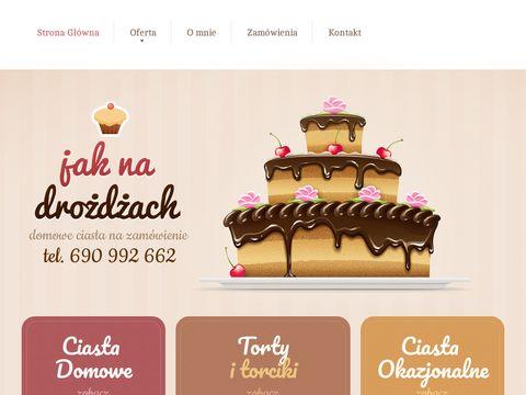 Jak Na Drożdżach - ciasta domowe Wrocław