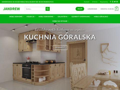 Jandrew.pl meble sosnowe producent