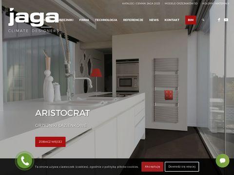 Jaga.com.pl - Grzejniki łazienkowe