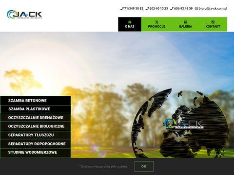 Ja-ck.com.pl oczyszczalnia przydomowa