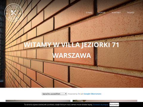 Hostel Jeziorki 71 tani hotel w Warszawie