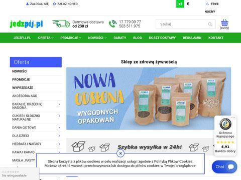 Jedzpij.pl certyfikowana zdrowa żywność