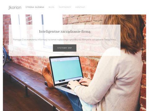 Jkorion.pl blog o tematyce biznesowej