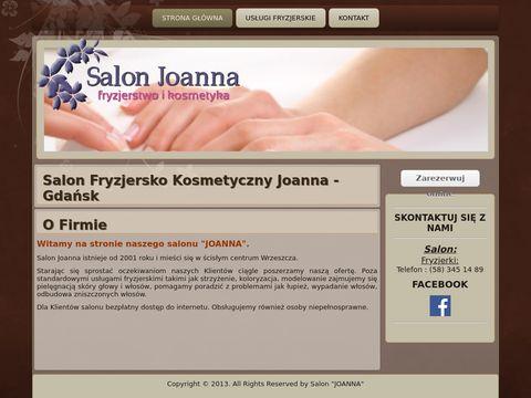 Joanna.gda.pl salon fryzjersko kosmetyczny