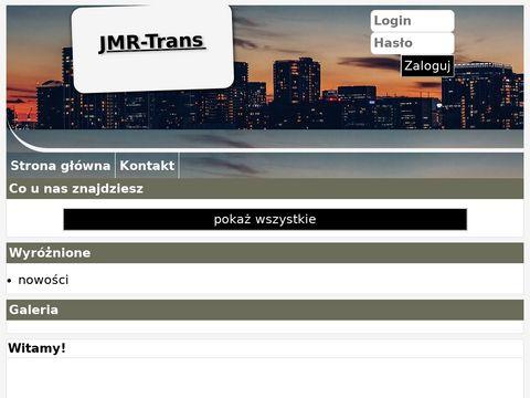 JMR-Trans Warszawa transport maszyn
