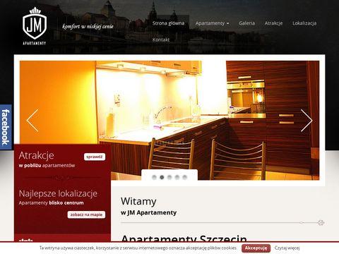Jmapartamenty.com pokoje Szczecin