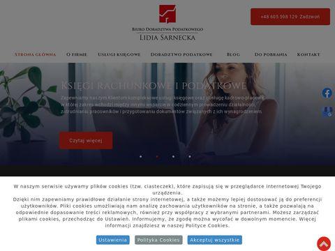 Lidia Sarnecka doradztwo księgowe Toruń